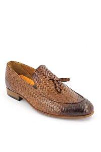 Erkek Taba Deri Ayakkabı