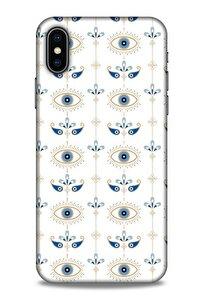 Nazarium (47) Desenli Silikon Kapak Apple Iphone Xs Kılıf