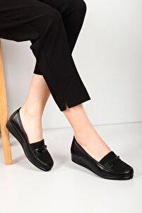 Siyah Kadın Günlük (Casual) Ayakkabı 42090