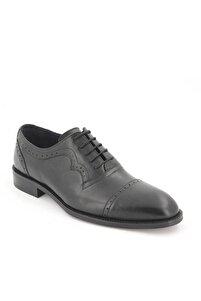 Erkek Siyah Klasik Deri Ayakkabı