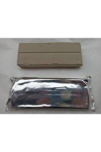 Seramik Hamuru - Dağal Kil Çamuru - Beyaz - 1 kg 1000 gr