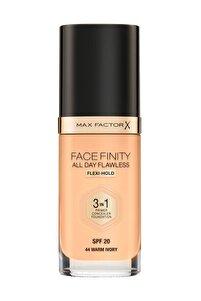 Fondöten - FaceFinity All Day Flawless Foundation 44 Warm ivory 3614227923355