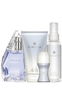 Perceive Kadın Parfüm Edp 50 ml. Perceive Kadın Vücut Losyonu 150 ml 5050000011051