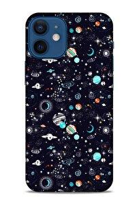 Spacex (20) Tema Koruyucu Kılıf Apple Iphone 12 Mini Kılıf