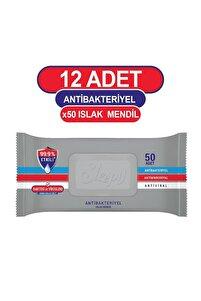 Antibakteriyel Islak Havlu 12X50