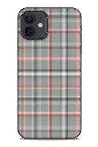 Gömlek (17) Desenli Silikon Kapak Telefon Kabı Apple Iphone 12 Uyumlu Kılıf