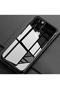 Apple Iphone 11 Pro Max Kılıf Koruma Kabı 4 Köşe Laser Şeffaf Kap