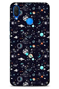 Spacex (20) Tema Koruyucu Kılıf Huawei Psmart 2019 Kılıf