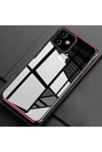 Apple Iphone 11 Kılıf Koruma Kabı 4 Köşe Laser Şeffaf Kap
