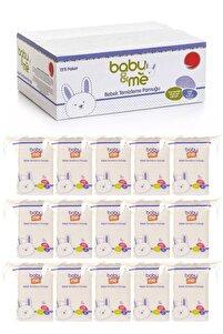 Bebek Temizleme Pamuğu %100 Saf Pamuk 60lı Poşet 15 Paket 565rtg-55