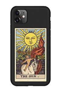 Iphone 11 The Sun Premium Siyah Telefon Kılıfı