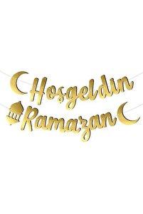 Kaligrafi Banner Hoş Geldin Ramazan