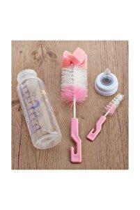 Pratik Bebek Biberon Temizleme Yıkama Fırçası Hijyenik Fırça Seti