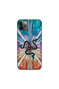 Iphone 11 Pro Max Uyumlu Colorful Razer Desenli Silikon Arka Kapak Kılıf