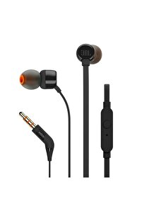 T110 Siyah Kablolu Kulak Içi Kulaklık