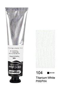 Yağlı Boya 200 ml. 104 Titanium White