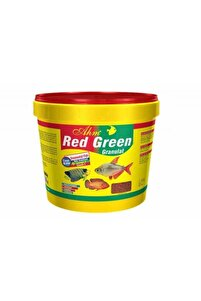Red Green Karışık Granulat Ciklet Balığı Yemi 10l 3kg