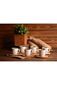 Kostas 6 Kişilik Kahve Takımı