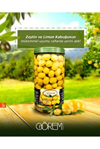 Limon Kubuğu Dolgulu Yeşil Zeytin 1kg.