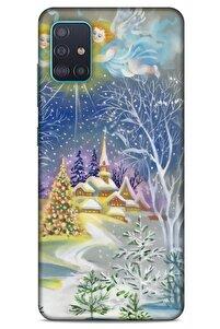 Samsung Galaxy A51 Uyumlu Snowix (26) Tpu Silikon Renkli Kılıf