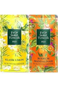 Est Klasik Limon Ve Bodrum Mandalinası 300 Adet Kolonyalı Mendil 2 Li Set