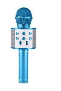 Karaoke Mikrofon Bluetooth, Usb, Hafıza Kartı Ve Aux Girişli Ws-858