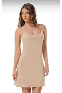 Kadın Ten 3851 Elbise Jipon Astar
