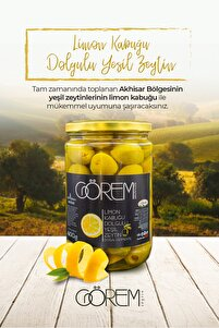 Limon Kabuğu Dolgulu Yeşil Zeytin 400 gr