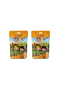 Kids Niloya Gummıes Vitamin C Çiğnenebilir 60 Tablet X 2