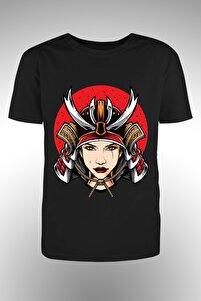 Kadn Savaşçı Baskılı Tshirt
