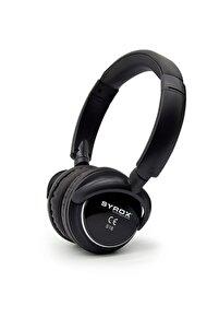 Siyah Kulaküstü Kablosuz Bluetooth Kulaklık Hafıza Kartı Girişli S16
