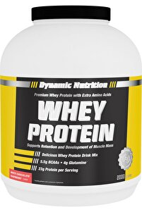 Whey Protein Tozu 2000 gr Beyaz Çikolata & Ahududu Aromalı
