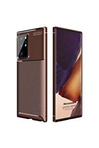 Microsonic Galaxy Note 20 Ultra Kılıf Legion Series Kahverengi