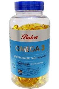 Omega 3 Norveç Balık Yağı 1380 Mg 200 Kapsül Trigliserid Form