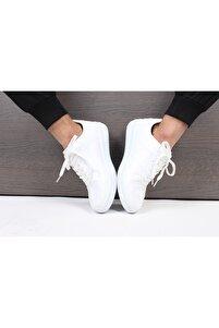 Unisex Beyaz Sneaker Günlük Spor Ayakkabı