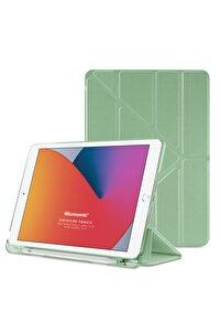 Microsonic Ipad 10.2'' 8. Nesil Kılıf (a2270-a2428-a2429-a2430) Origami Pencil Açık Yeşil