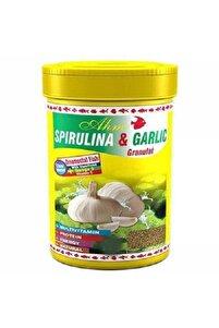 Spirulina Garlic Sarımsaklı 100ml Balık Yemi
