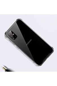 Samsung Galaxy S20 Kılıf Mitro Anti Şok Şefaf Kapak