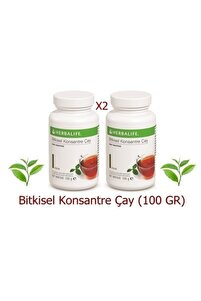 Bitkisel Konsantre Çay (klasik Aromalı 100 Gr) (x2)