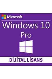 Windows 10 Pro 32-64 Bit Dijital Lisans Anahtarı 1 Pc