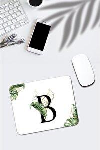 Tropik Desenli B Harfli Mousepad