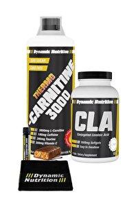 Dynamic Thermo L-Carnitine 3000 mg 1000 ml + CLA 90 Kapsül + 3 HEDİYE