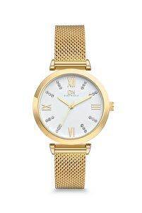 Dbg1019 Kadın Kol Saati Hasır Sarı