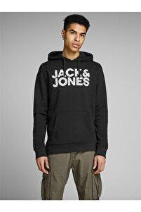 Jack&jones Jjecorp Logo Sweat Hood Noos Erkek Sweatshirt