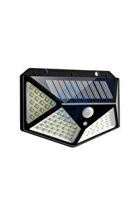 Solar Güneş Enerjili Hareket Sensörlü 4 Taraflı Bahçe Garaj Ev Aydınlatma Lambası