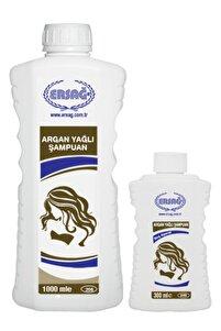 Aparatlı Argan Yağlı Şampuan 1000 Ml.