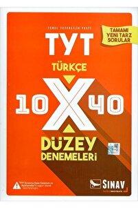 Tyt Türkçe 10xx40 Düzey Denemeleri