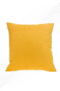 45x45 Cm Sarı Kırlent Kılıfı Dekoratif Düz Sade Panoroma-344