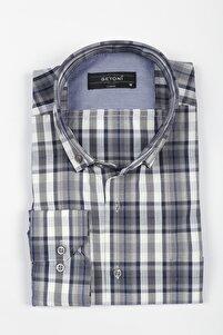 Geniş Kalıp Kareli Gömlek