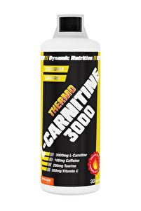 Thermo L-carnitine 3000 mg 1000 ml Portakal Aromalı